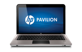 HP Pavilion dv6-3052nr Entertainment Notebook PC Front View