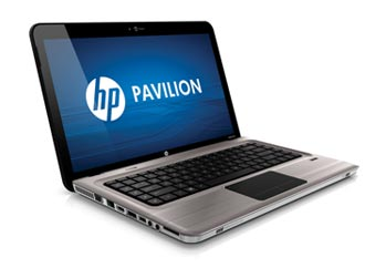 HP Pavilion dv6-3052nr Entertainment Notebook PC Left View